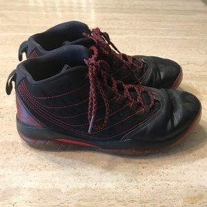 Nike Air Jordan Velocity BG Black Gym Red Youth